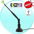USB 802.11N WiFi Dongle for Desktops + Laptops (150 Mbps)
