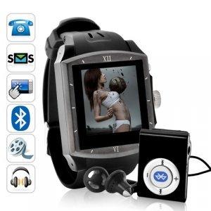 Endurance - Sporty QuadBand Touchscreen Mobile Phone Watch