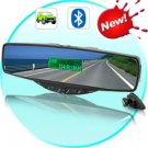 Bluetooth Rearview Car Mirror (Caller ID Display)