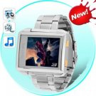 MP4 Player Watch (4GB Waterproof Steel Edition)