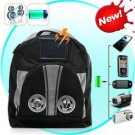 Solar Battery Charger Backpack with Bonus Stereo Speakers