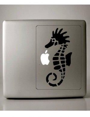 Seahorse vinyl Macbook Decall