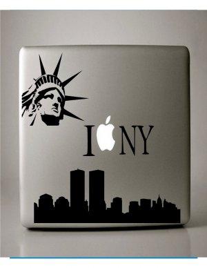 I Love New York  Macbook Decal Vinyl Sticker for Mac Laptop