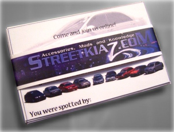 Streetkiaz Handout cards