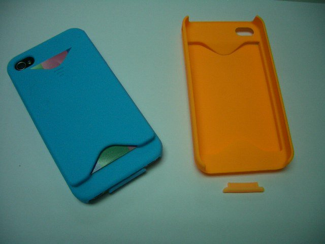 For iPhone 4 new cover can insert card
