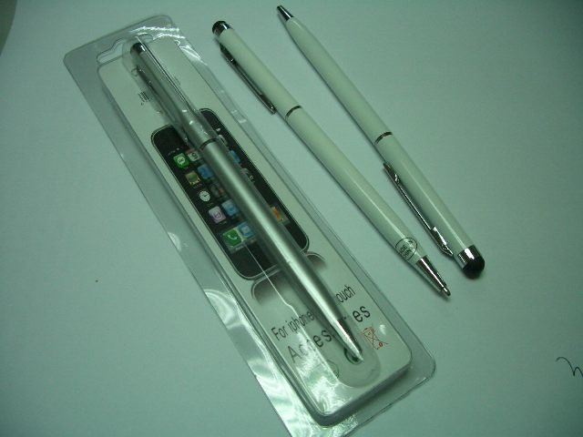 stylus with ballpen for iPhone iPad