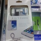 4 in 1 cable for iPhone iPad and samsung galaxy S4