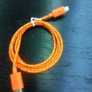 woven USB cable for iPhone 5