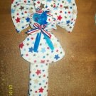 Layette/Receiving Blanket Angel with Stars