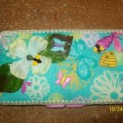 Diaper Wipe Case with flowers and bees