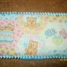 Diaper Wipe Case w/Teddy Bears