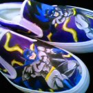 Batman Hand Painted Shoes (Unisex slip on)