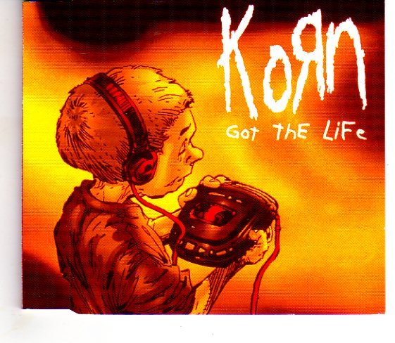 """Korn """"Got The Life"""" Import Compact Disc NEW Condition"""