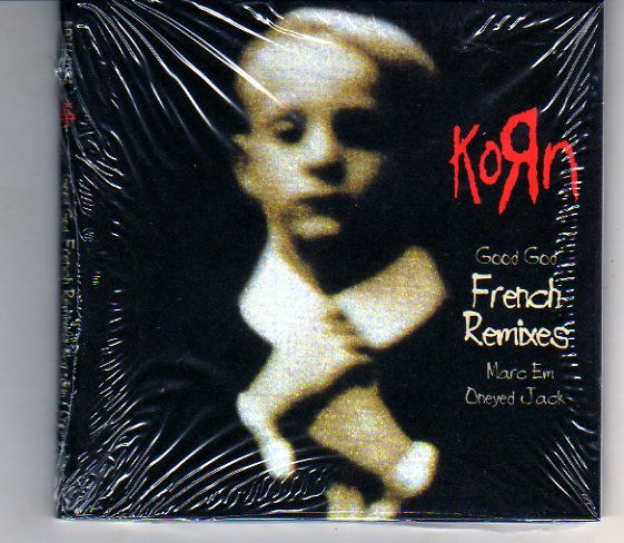 """Korn """"Good God"""" French Remixes Import Compact Disc NEW"""