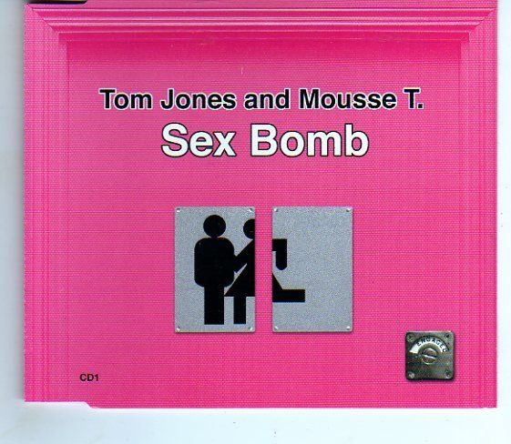"Tom Jones & Mousse T. ""Sex Bomb"" 4 Remixes Import Compact Disc"