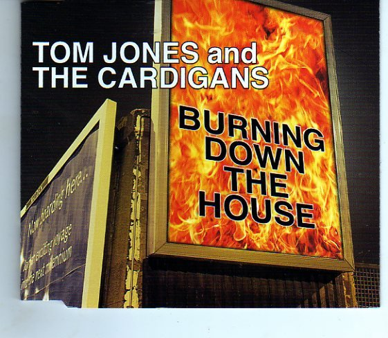 "Tom Jones & The Cardigans ""Burning Down The House"" + Bonus Tracks Import CD"