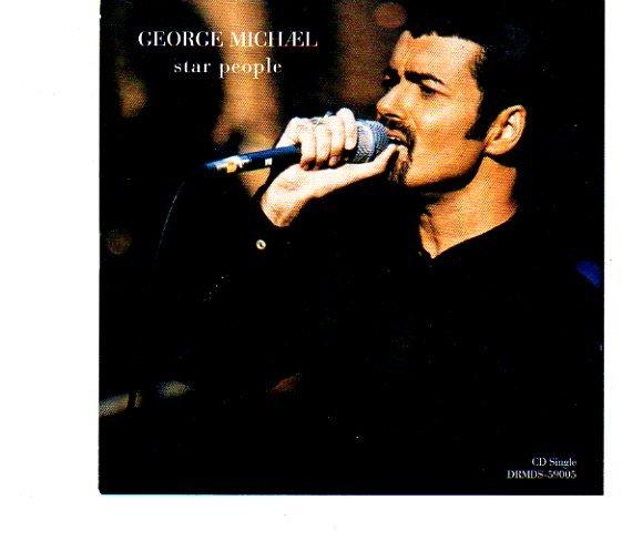 "George Michael ""Star People""+ Bonus Songs Import CD NEW!"