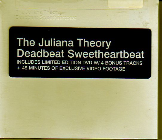 "Juliana Theory ""Deadbeat Sweetheartbeat"" CD & Ltd Ed DVD NEW!"