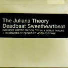 "Juliana Theory ""Deadbeat Sweetheartbeat"" CD & Ltd Ed DVD NEW!"