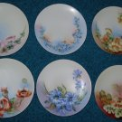 6 Thomas Severs Bavaria Plates lot artist signed Kumph