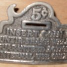Insert Coin Belt Buckle Great American Buckle 1979