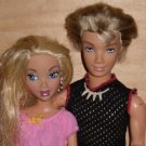2 My Scene Dolls Blond Boy Hudson, Blond Girl Doll Mattel