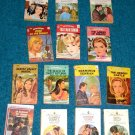 14 Romance Paperback books Harlequin Valentine mixed lot