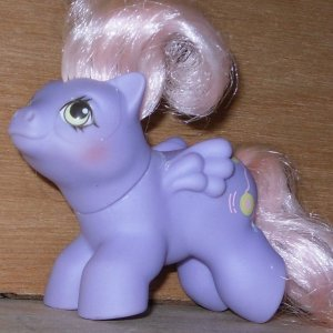 My Little Pony G1 Baby newborn YoYo 1987 MLP Hasbro