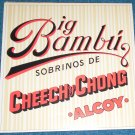 Cheech & Chong Big Bambu LP Rolling Paper