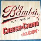 Cheech & Chong Big Bambu LP Rolling Paper