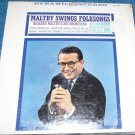 Richard Maltby Swings Folksongs LP Jazz New