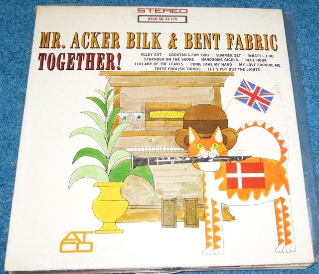 Mr Acker Bilk & Bent Fabric LP Jazz Alley Cat NEW