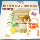 Mr Acker Bilk & Bent Fabric LP Jazz Alley Cat NEW