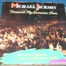 Michael Jackson, Farewell My Summer Love, Poster,  LP Vinyl Album 1984