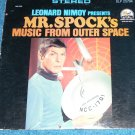 Star Trek, Mr Spock, Leonard Nimoy, Music from Outer Space LP