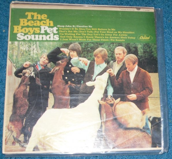 The Beach Boys Pet Sounds LP T 2458 Capitol Records 1966