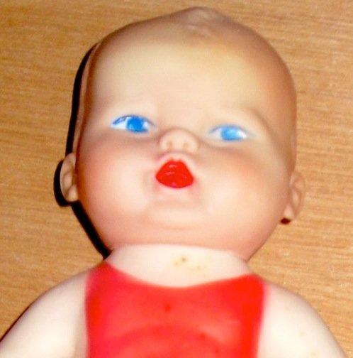 Sun Rubber Doll 1956 Vintage