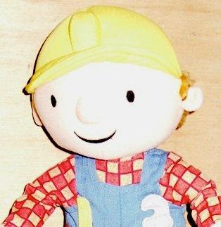 Bob the Builder Plush Doll Hasbro Huggable Bob
