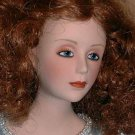 Franklin Mint Heralding Angel Porcelain Doll