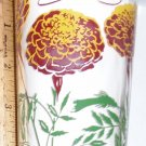 Boscul Peanut Butter Glass Marigold Flower