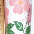 Boscul Peanut Butter Glass Pink Dogwood Flower