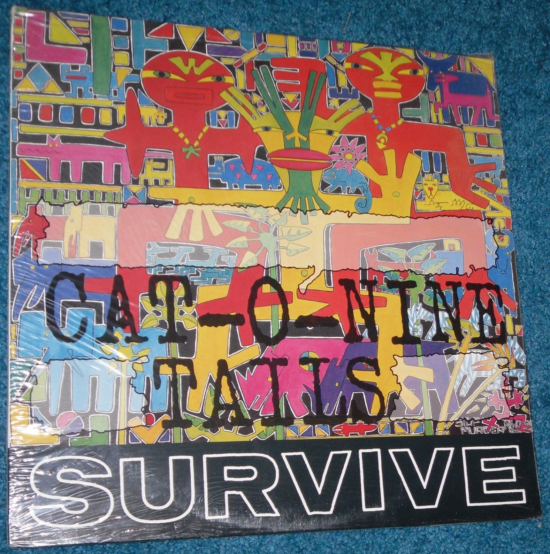 Survive, Cat-O-Nine Tails, LP, Vinyl Record Album
