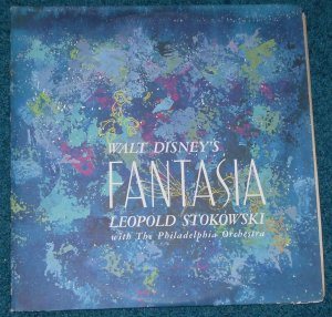 Disney Fantasia Sound Track LP Vinyl Record