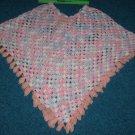 Crochet Shawl Poncho Cape Handmade