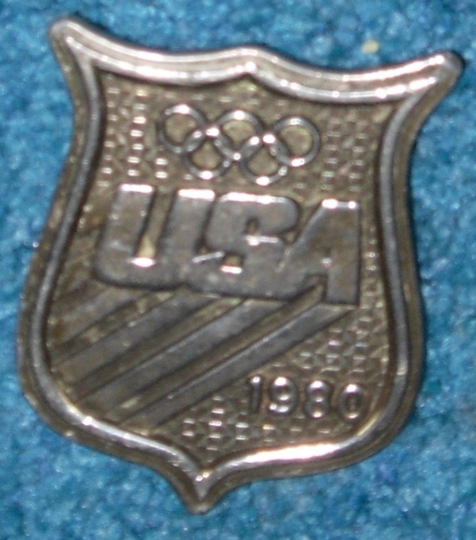 1980 USA Olympics Bergamot Brass Belt Buckle
