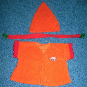 Teddy Ruxpin Clothes Outfit