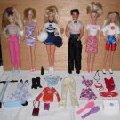 Barbie Ken Doll Lot, Penn State Cheerleader Baywatch