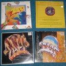 4 LP Lot-Zapp I, Zapp II, Zapp III, Zapp IV