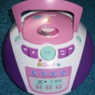Barbie Boombox CD Player Radio & disks Mattel