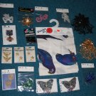 Sewing Crafts Sequin Appliques Stars Emblems Eagles